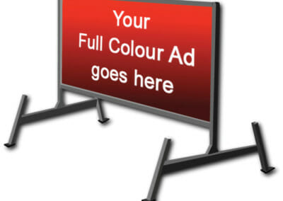 portable advertising sign